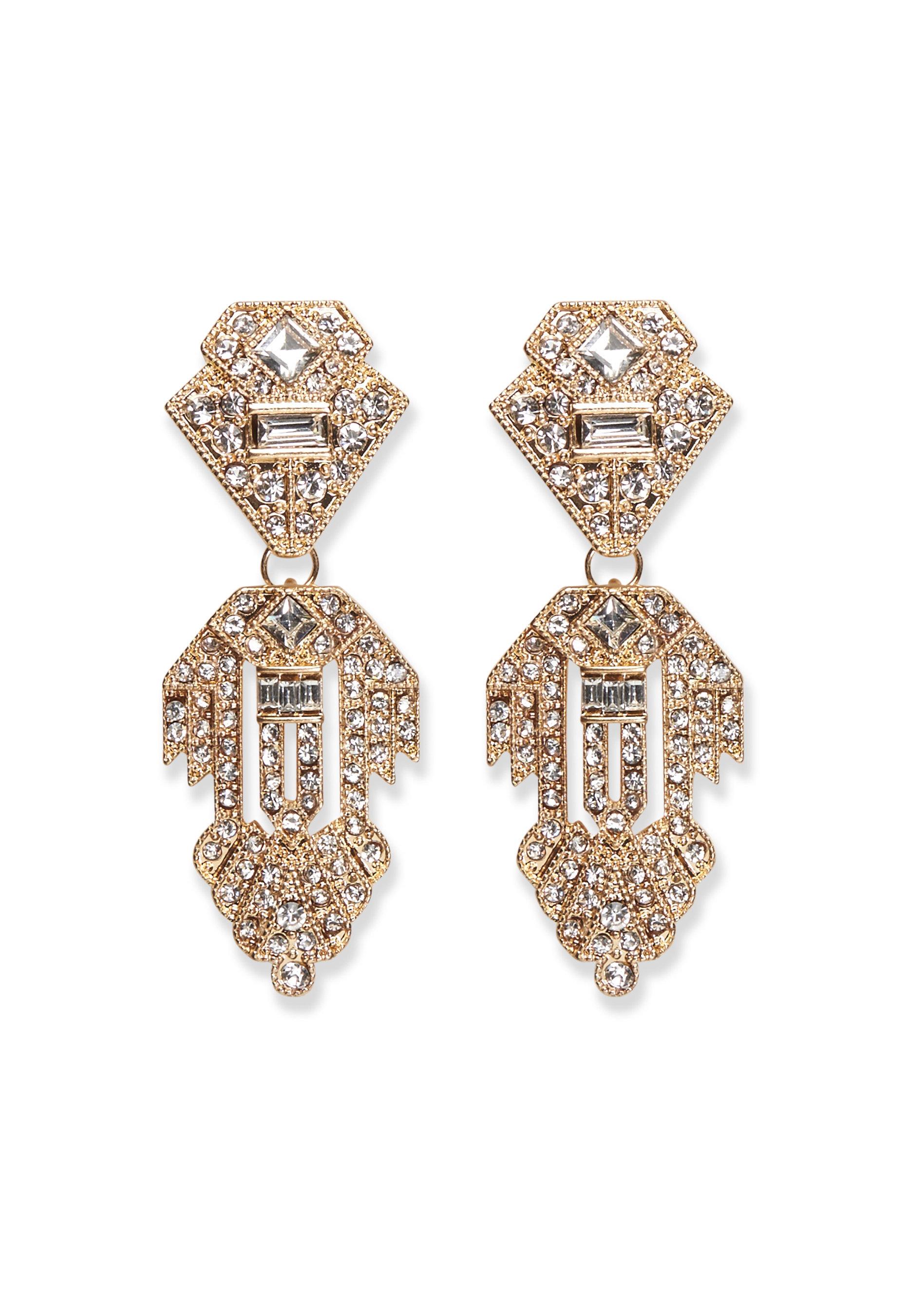 Pieces Kenzie Earrings Gold - Bubbleroom d082592f24