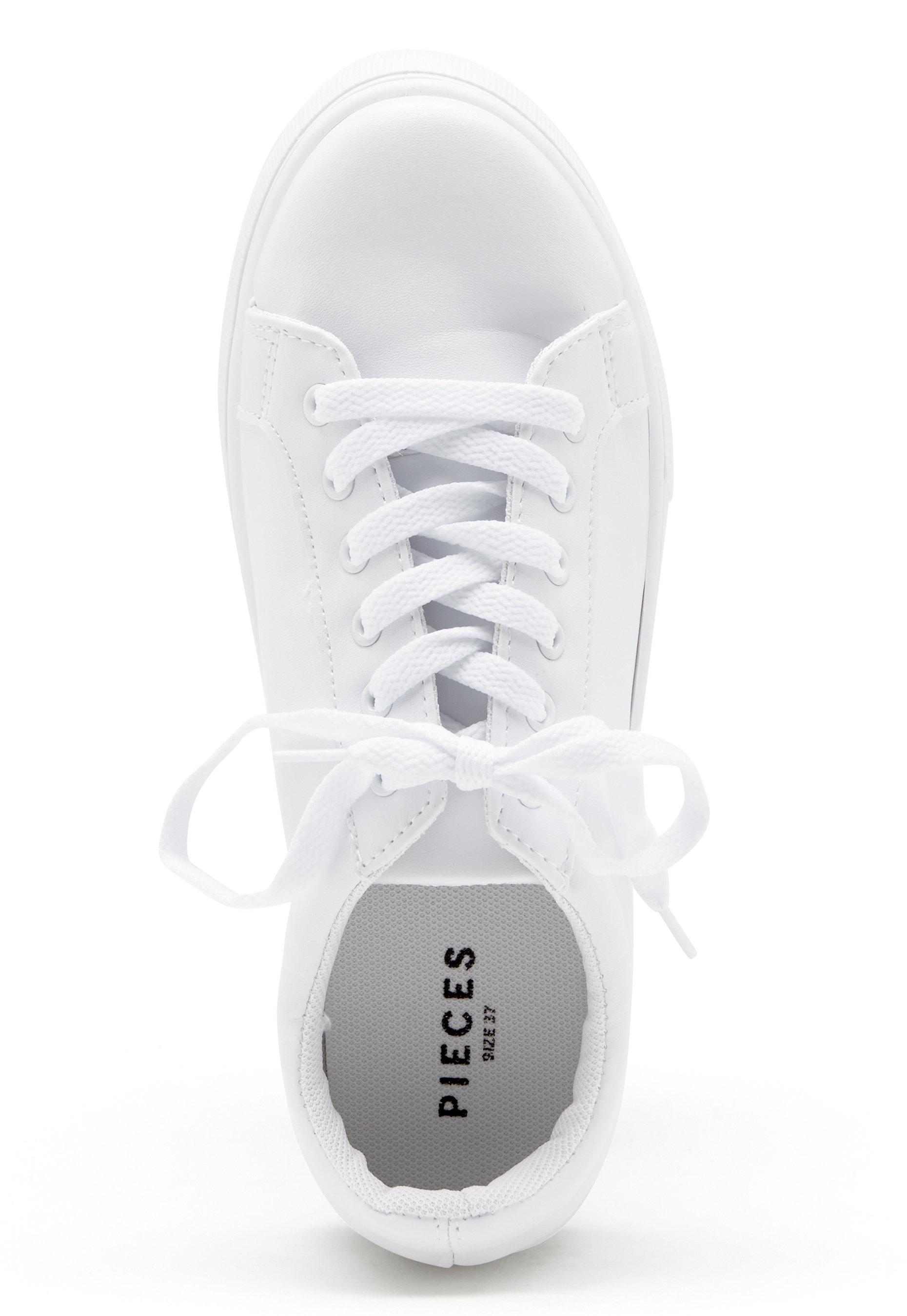 Bubbleroom Pieces Monet White Pieces Sneaker D2YHEI9W