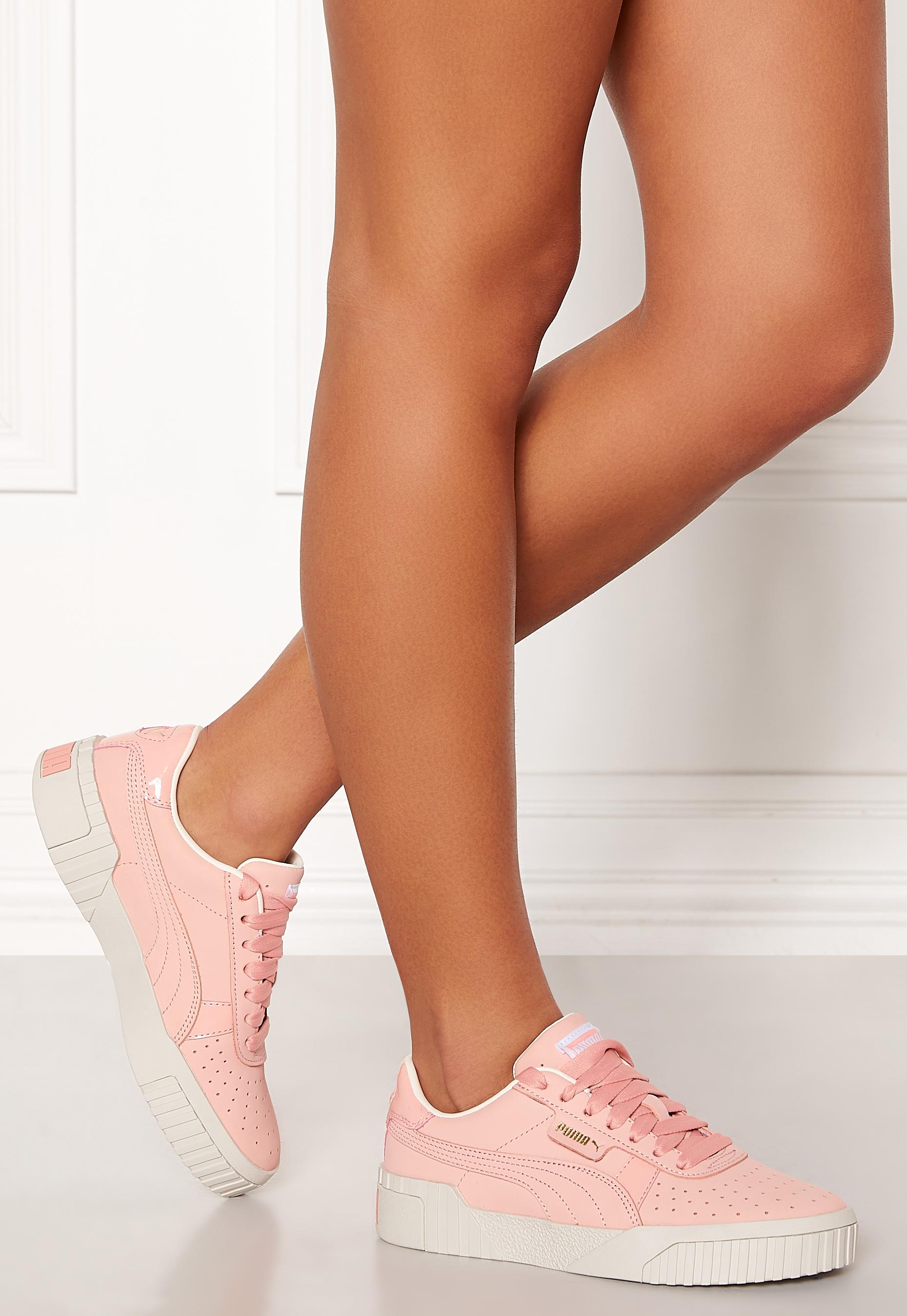 PUMA Cali Nubuck Sneakers 001 Peach