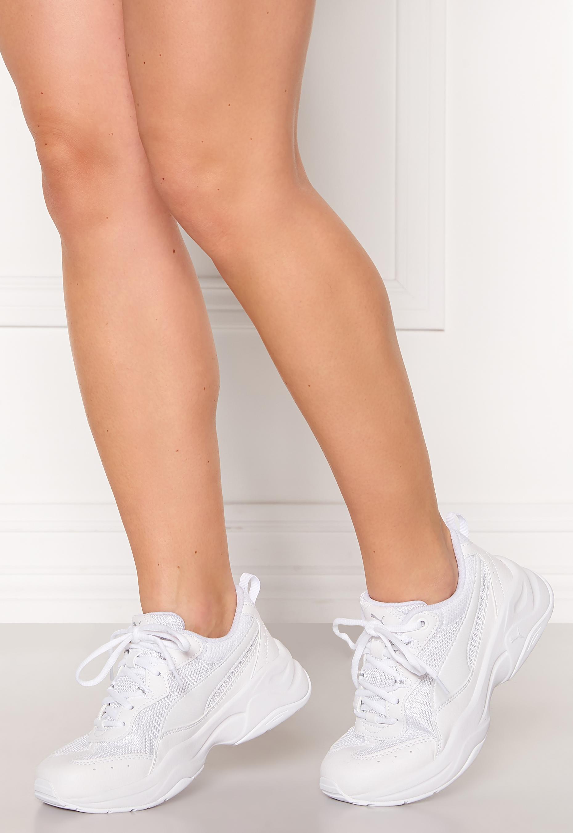 PUMA Cilia Sneakers White - Bubbleroom