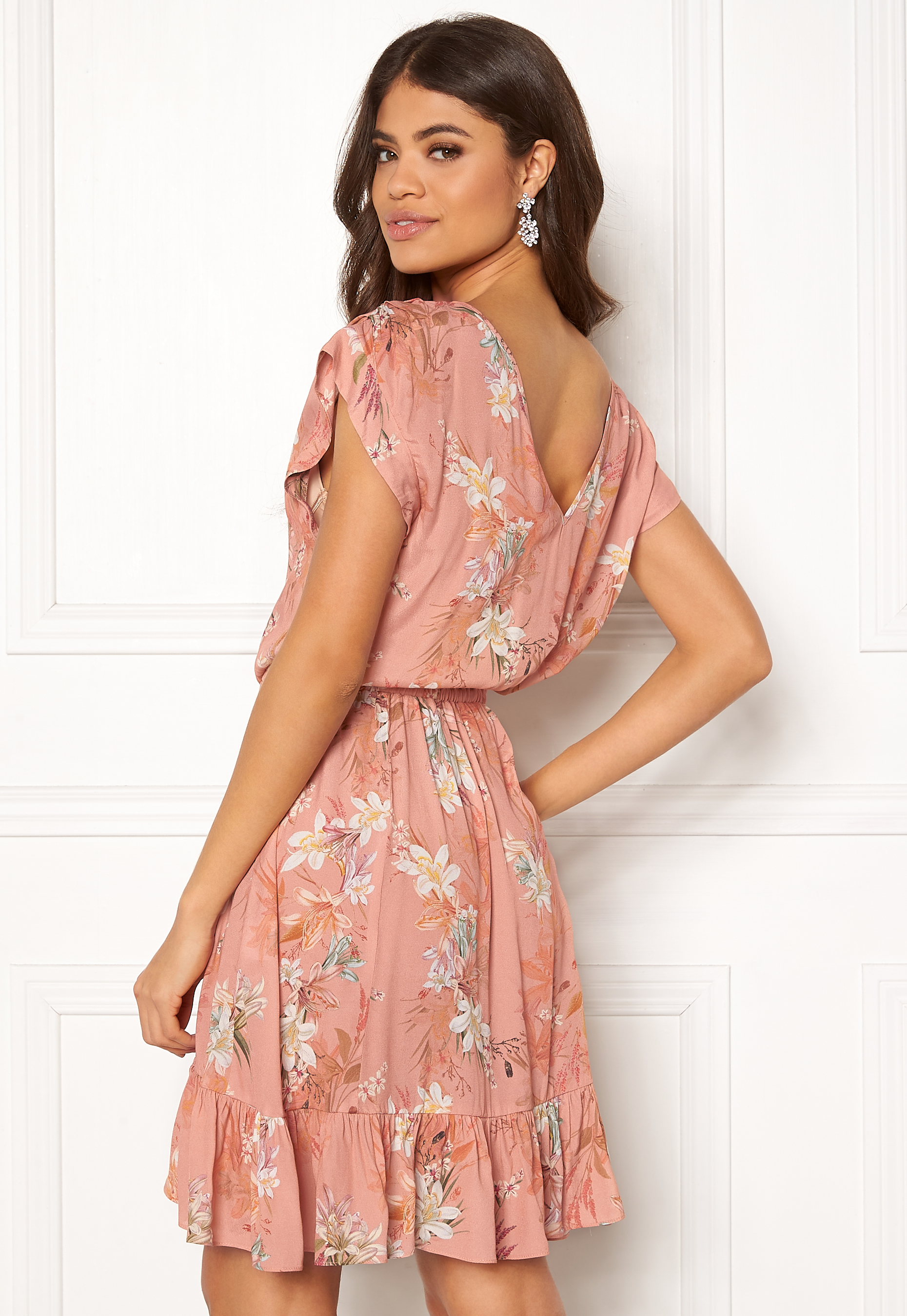 c4df0c872c5 Ravn Shea Dress Nude Flower - Bubbleroom