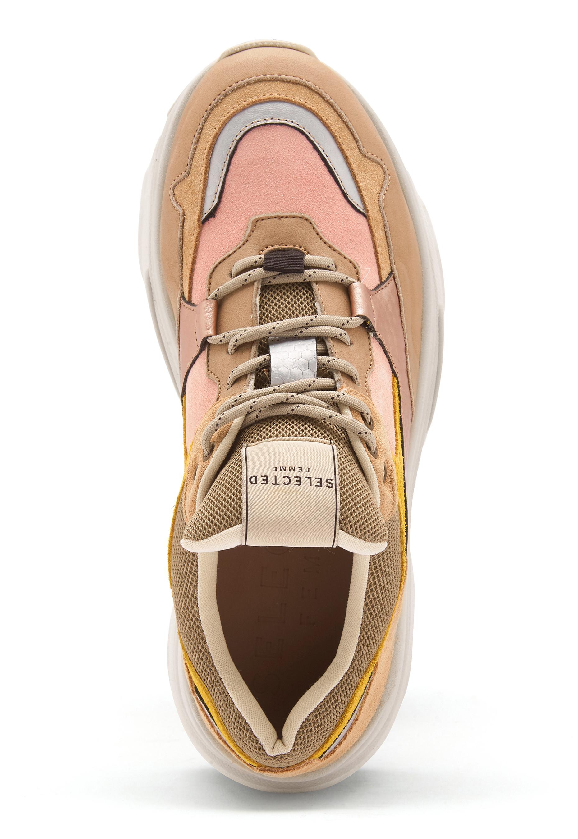 87a6b9683bd SELECTED FEMME Gavina Trainer Shoes Heavenly Pink - Bubbleroom