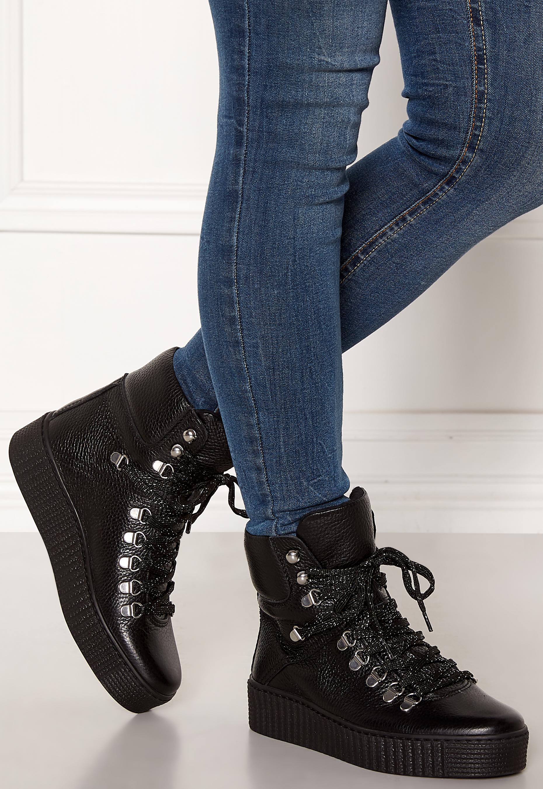BEAR Agda Leather Shoe 110 BLACK