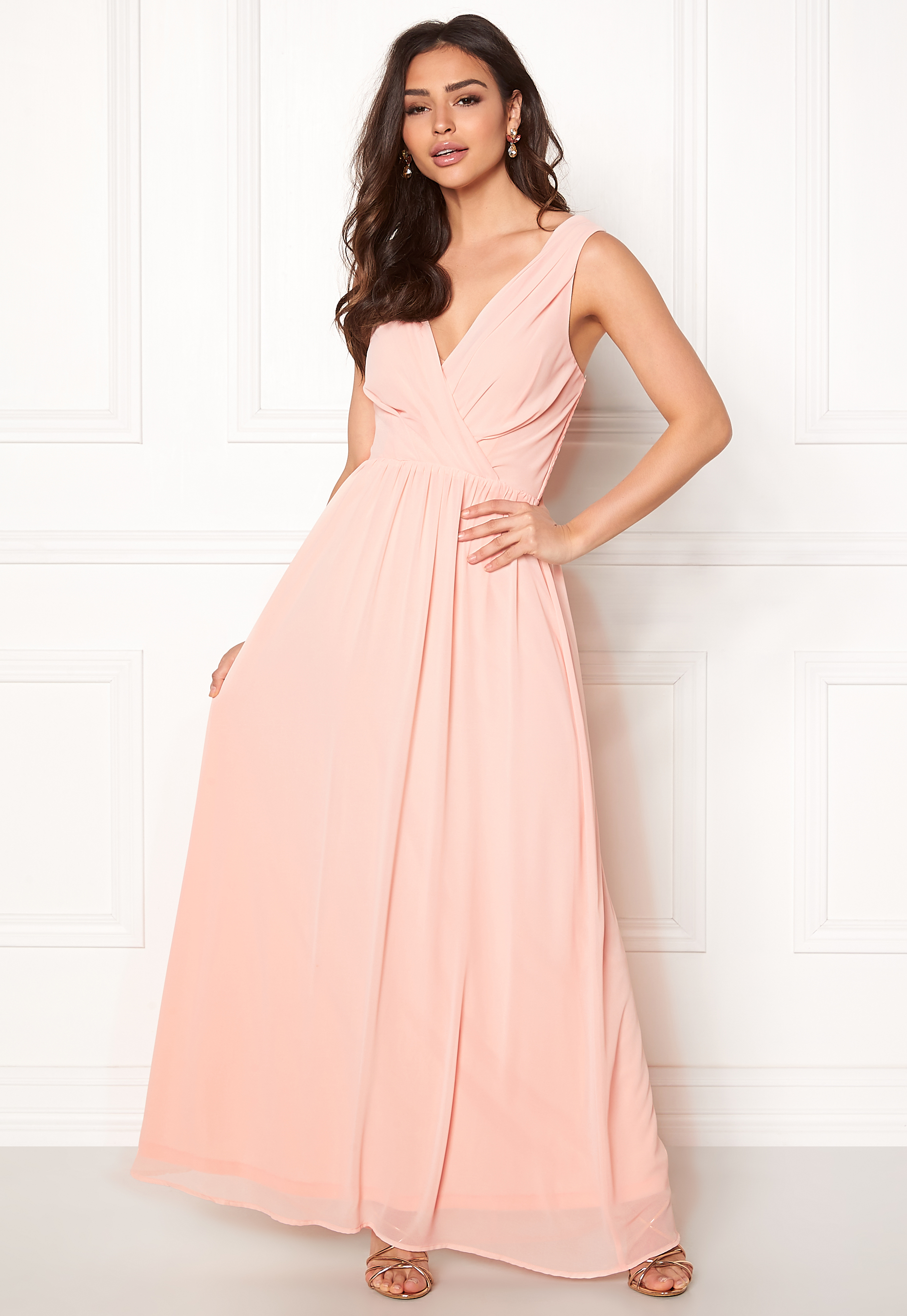 Sisters Point Gally Dress 585 Light Rose - Bubbleroom