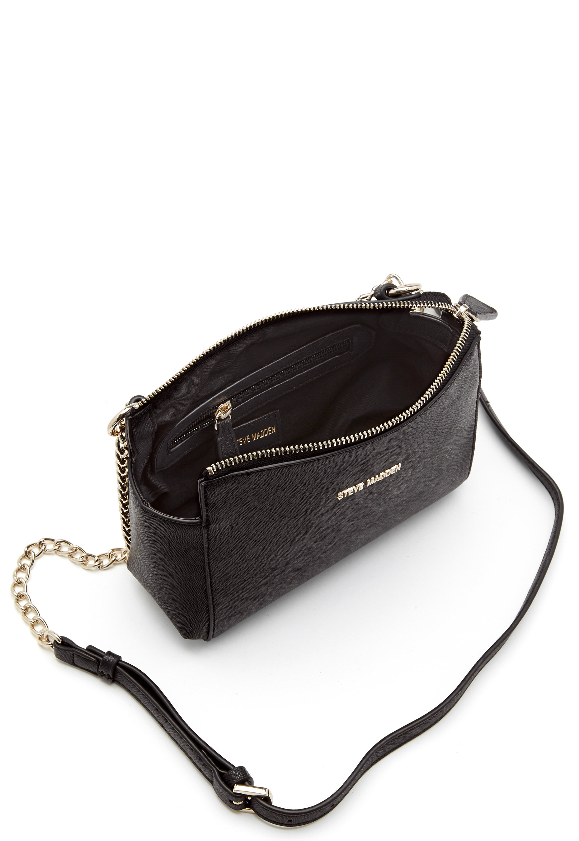 cbc6c8b4441 Steve Madden Bvailc Crossbody Bag Black - Bubbleroom