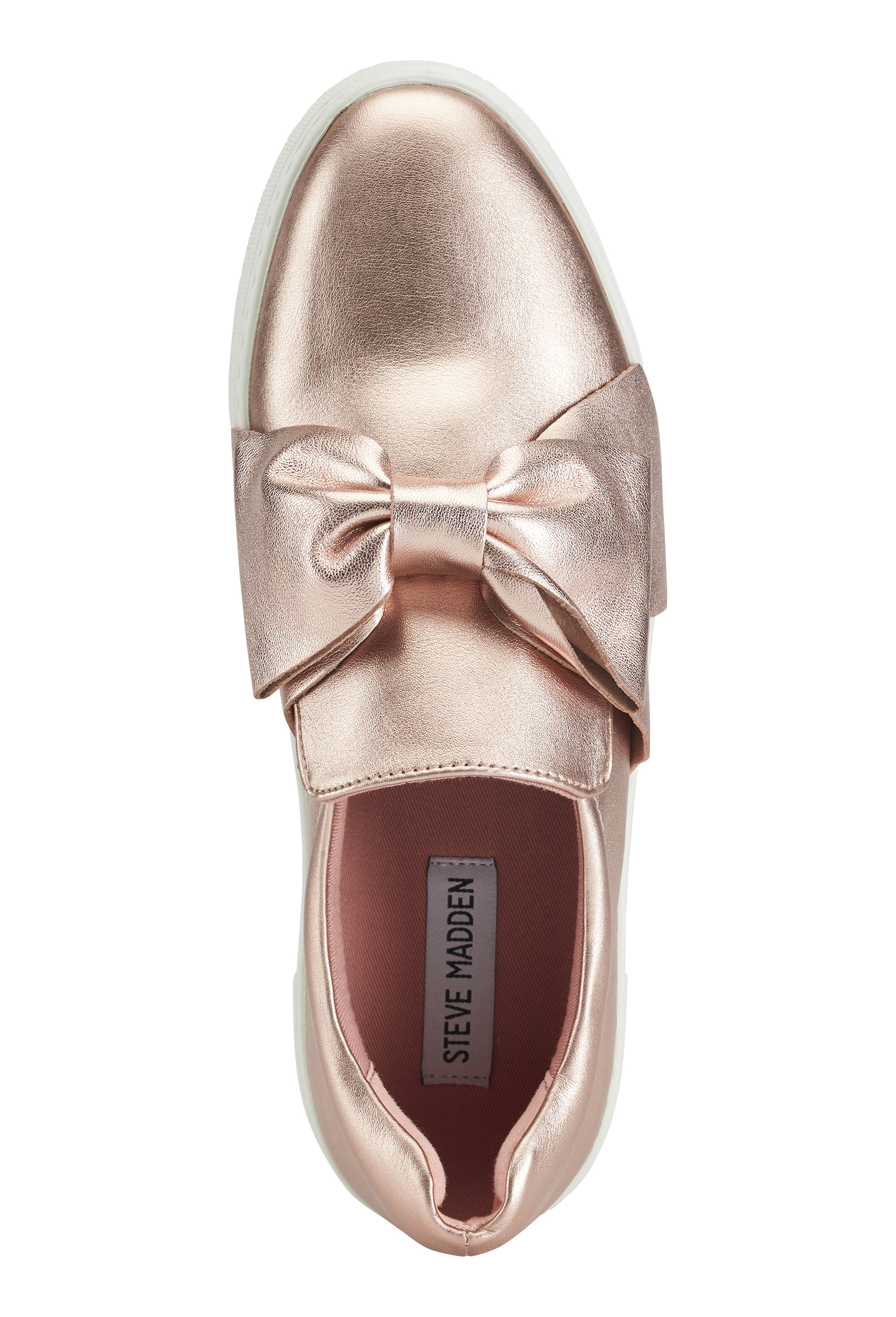 Hornear Misión todos los días  Steve Madden Empire Slip-on Shoes Rose Gold - Bubbleroom