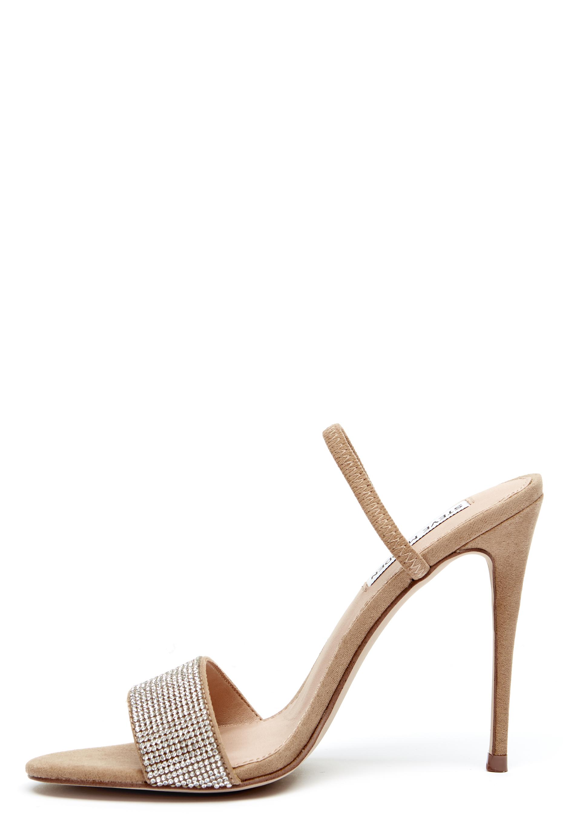 e481d92cdde Steve Madden Fierce High Heel Sandal Rhinestones - Bubbleroom