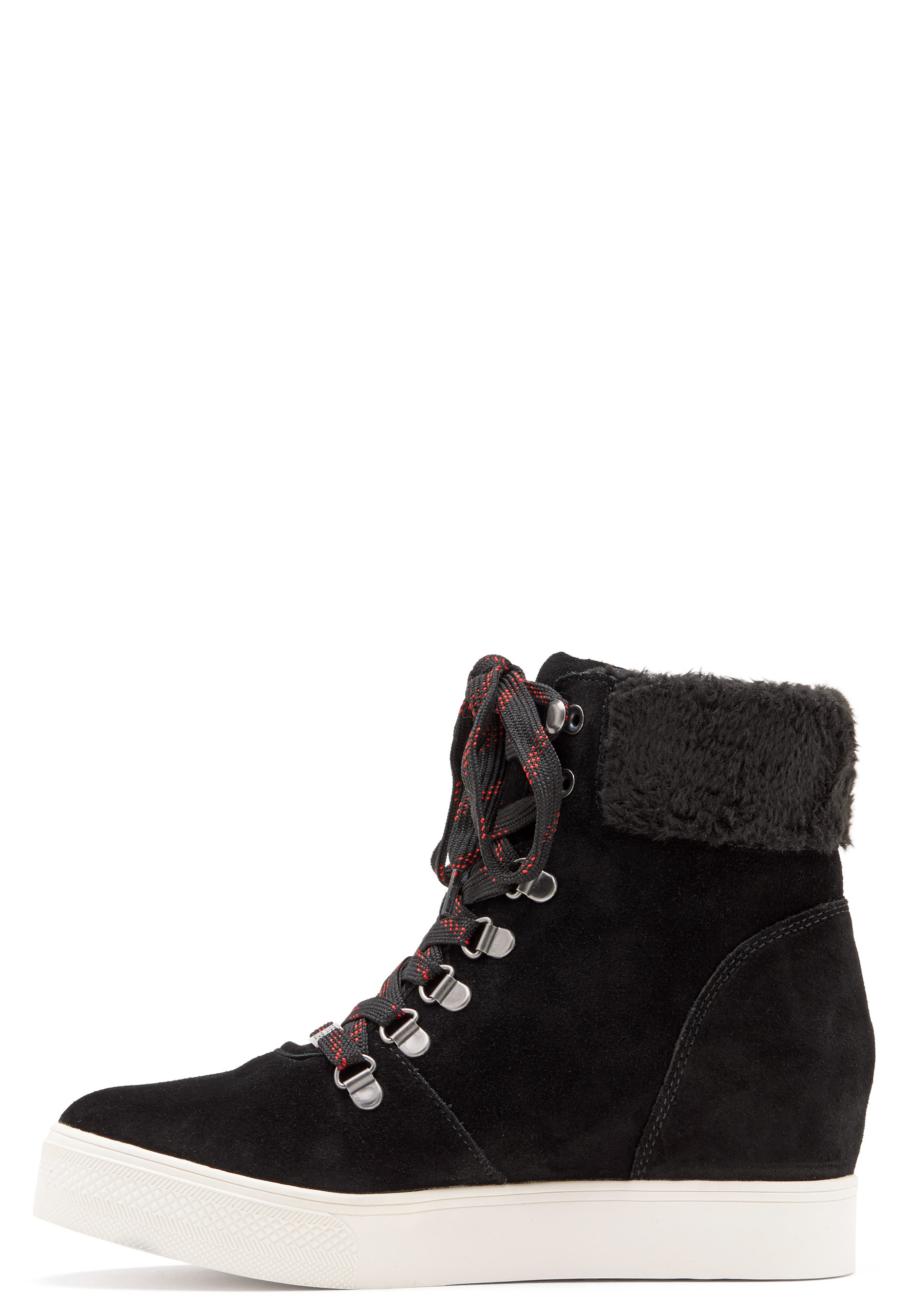 90051d459691 Steve Madden Windy Suede Boots Black - Bubbleroom