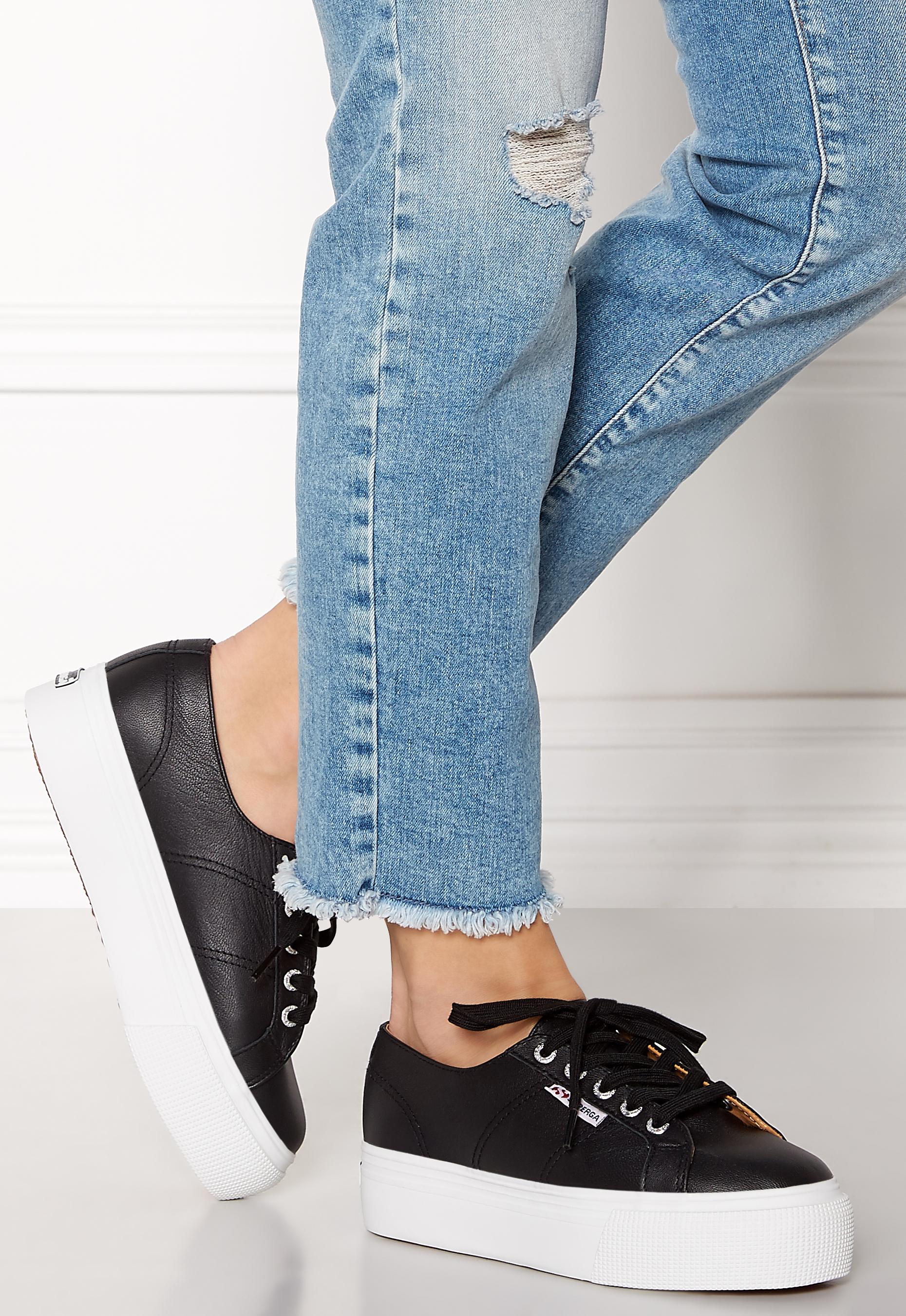 Superga Nappalea Sneakers Black-White
