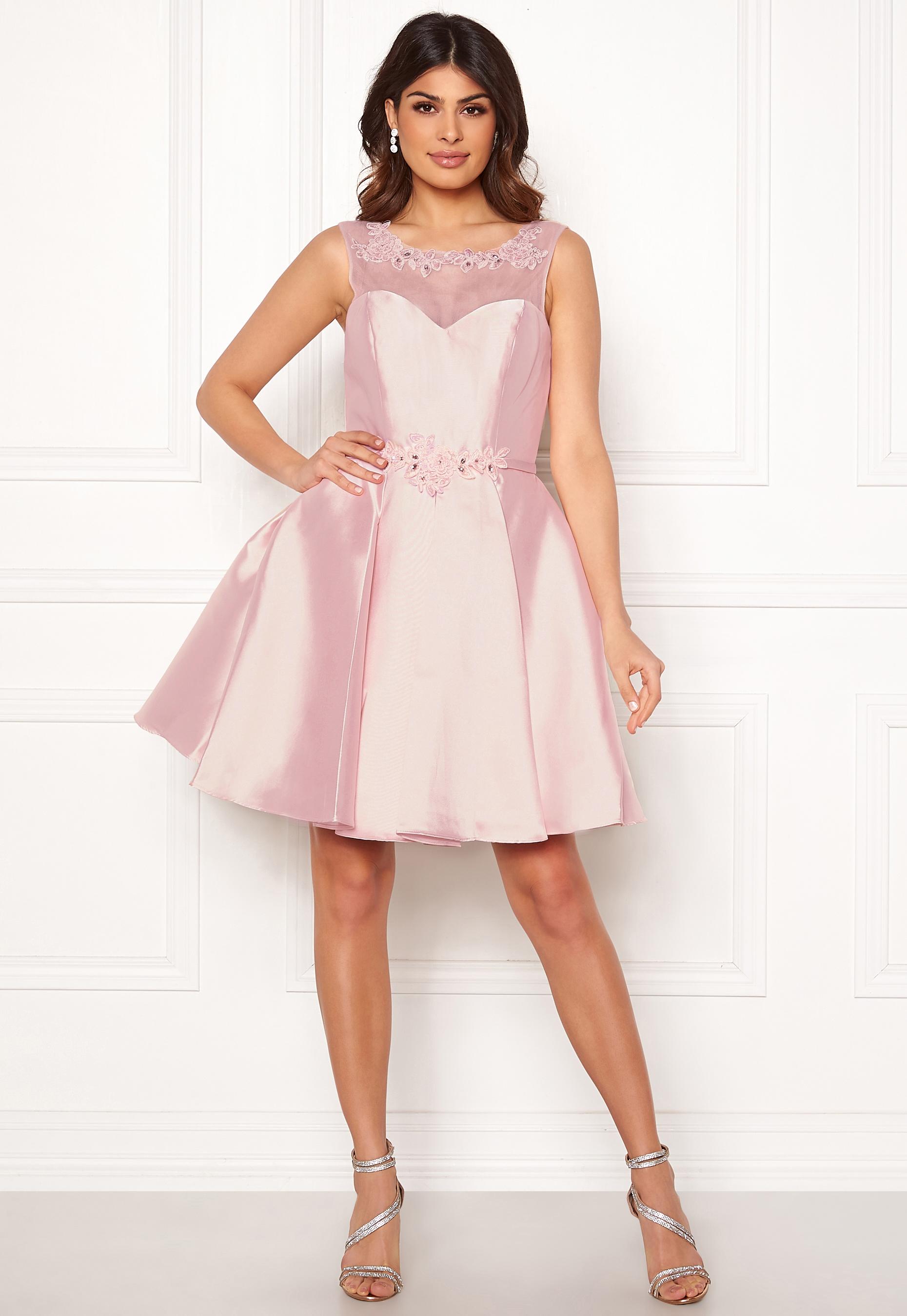 33eae8c27542f SUSANNA RIVIERI Embroidered Dream Dress Blush - Bubbleroom