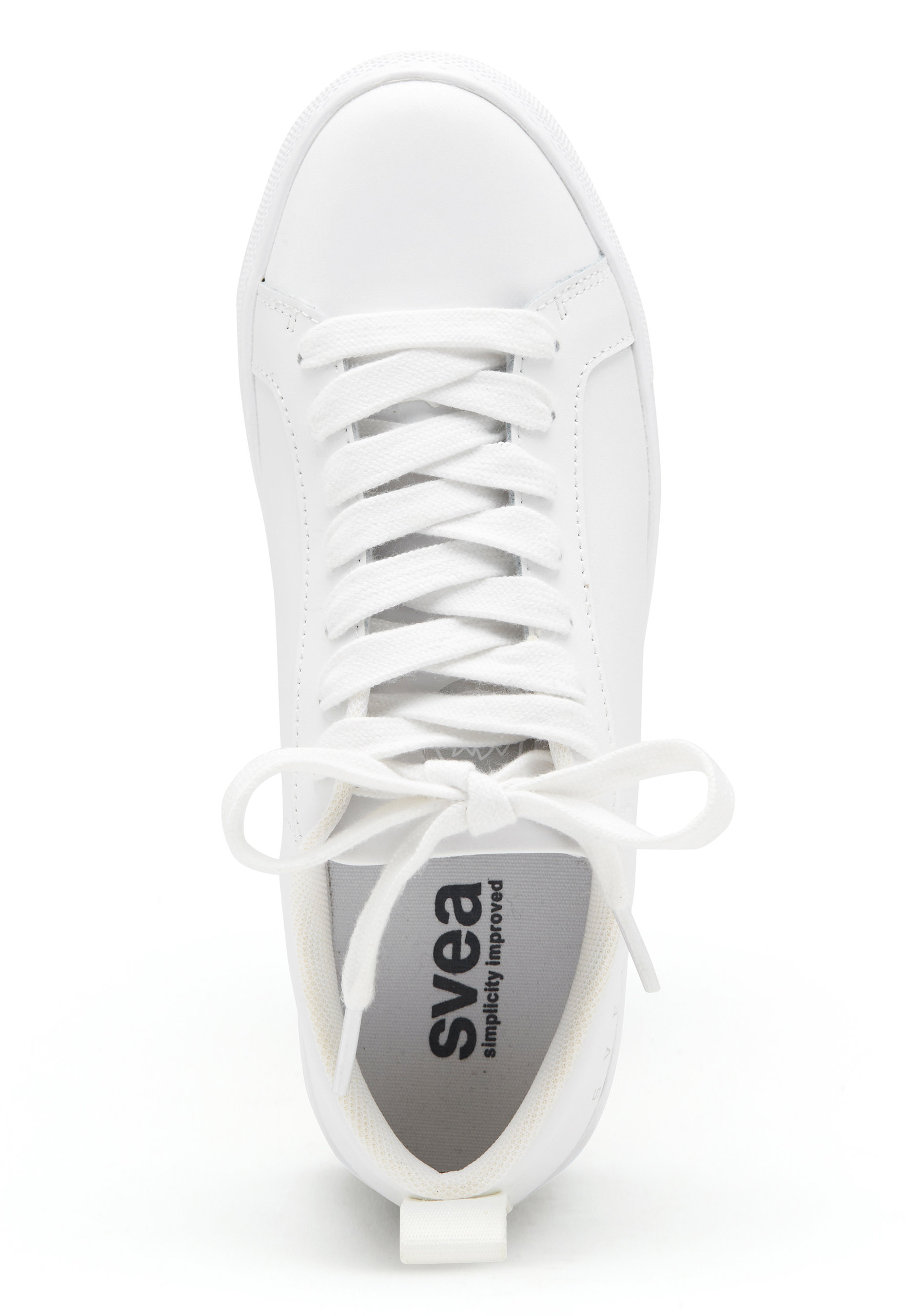 e332b0bd Svea Billie Leather Sneaker White - Bubbleroom