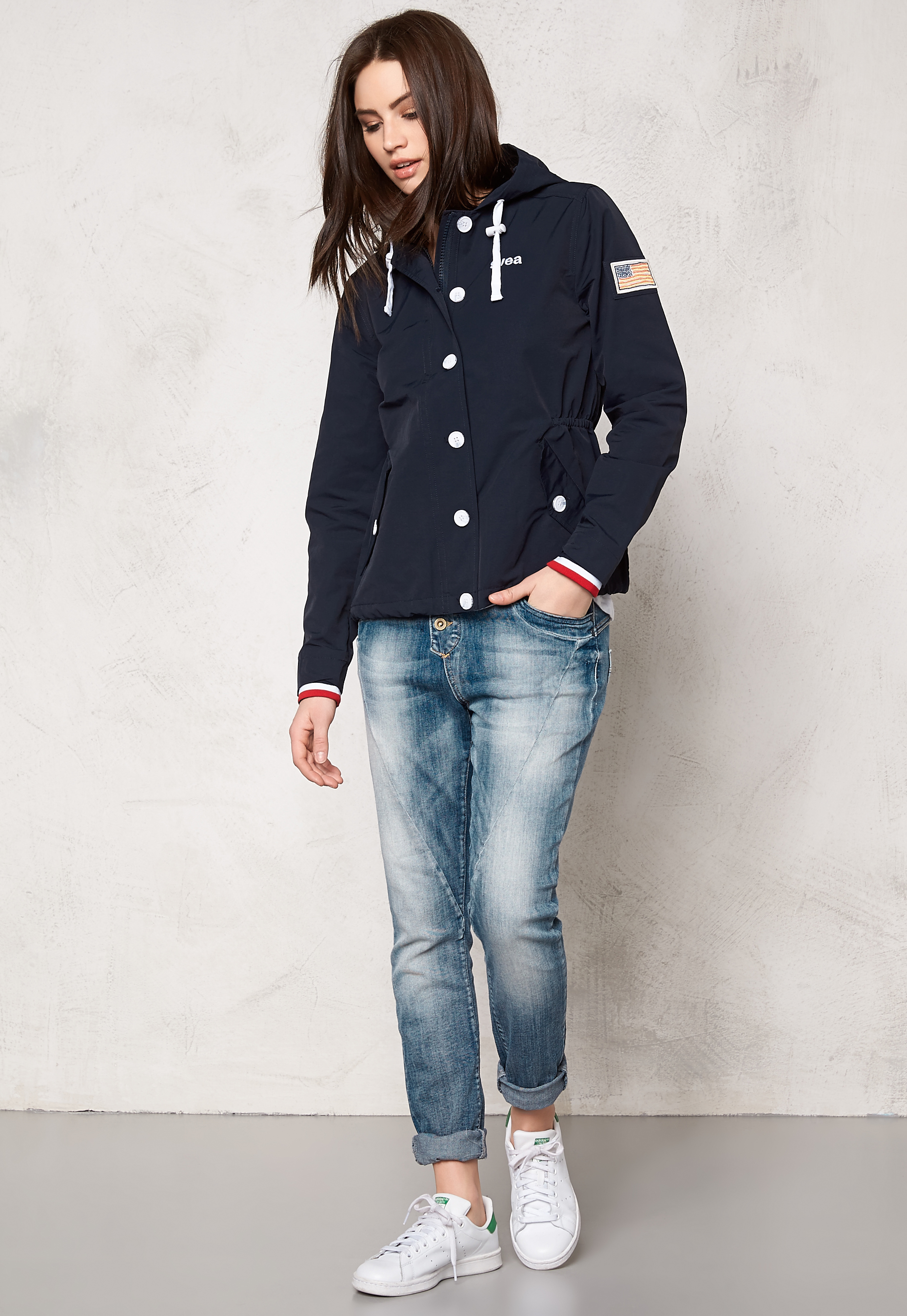 410d0823 Svea Doris Jacket Navy - Bubbleroom