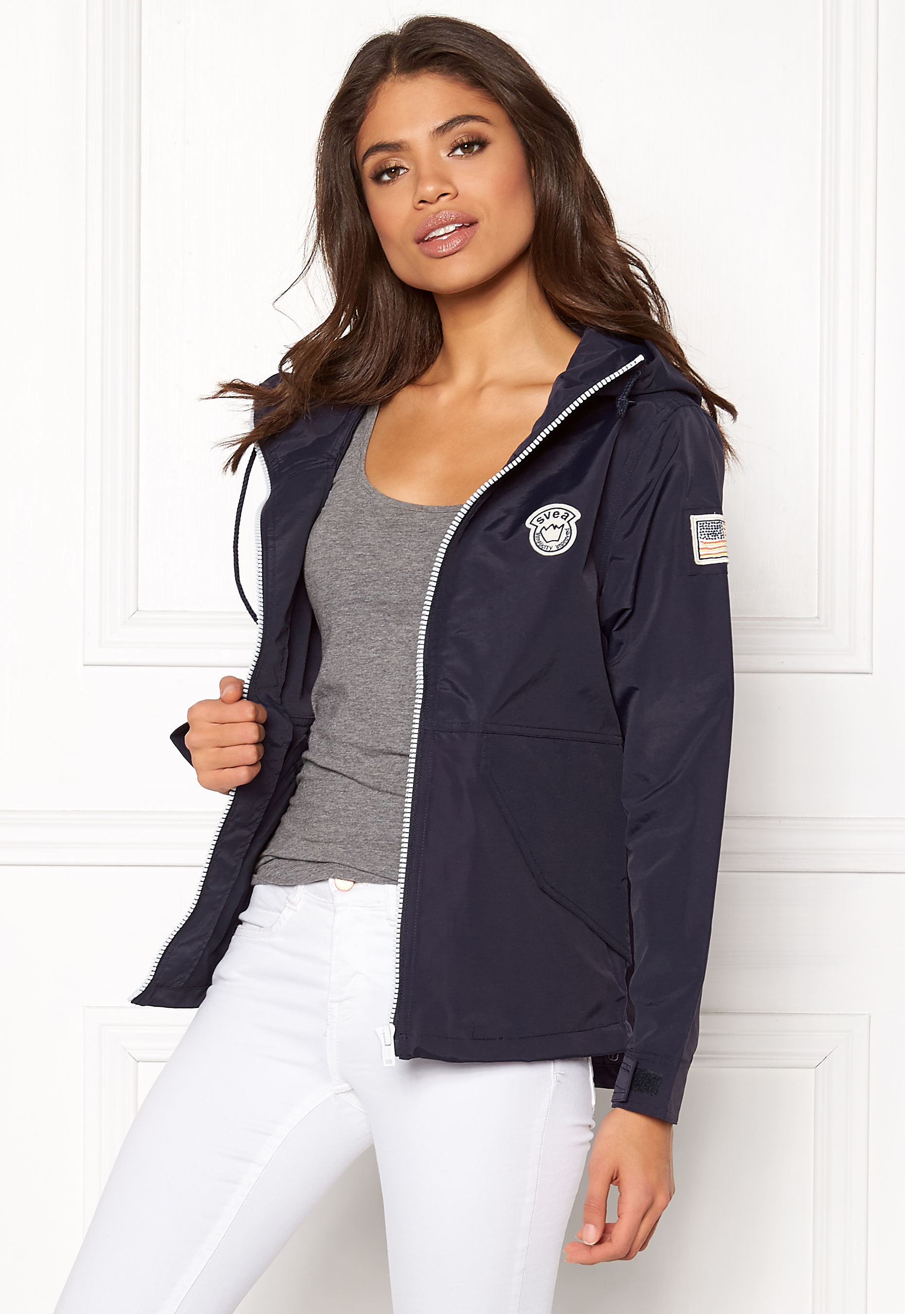 02506dc2 Svea Harley Jacket Dark Navy 626 - Bubbleroom