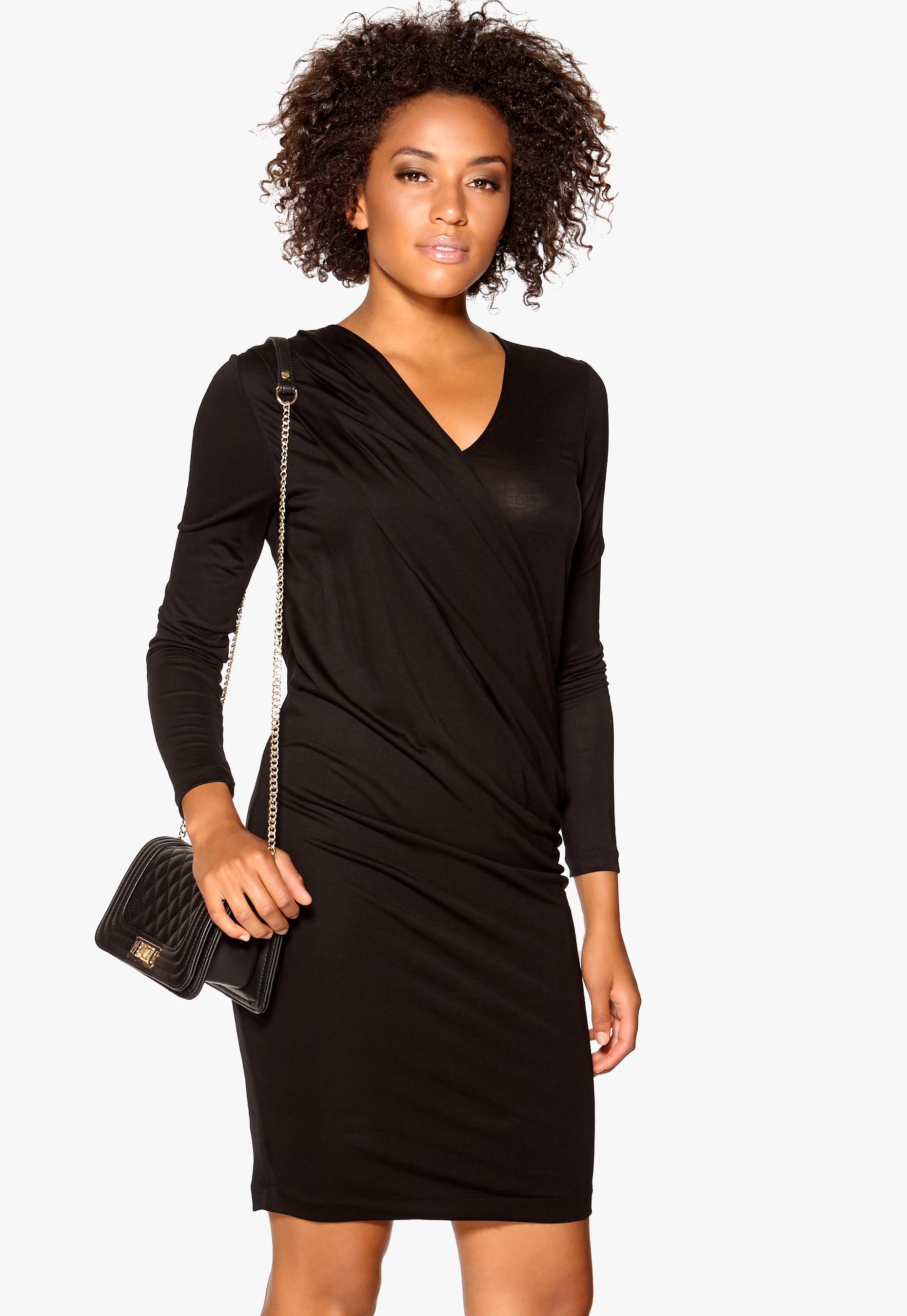 ff76a152190 TIGER OF SWEDEN Agate Dress 050 Black - Bubbleroom