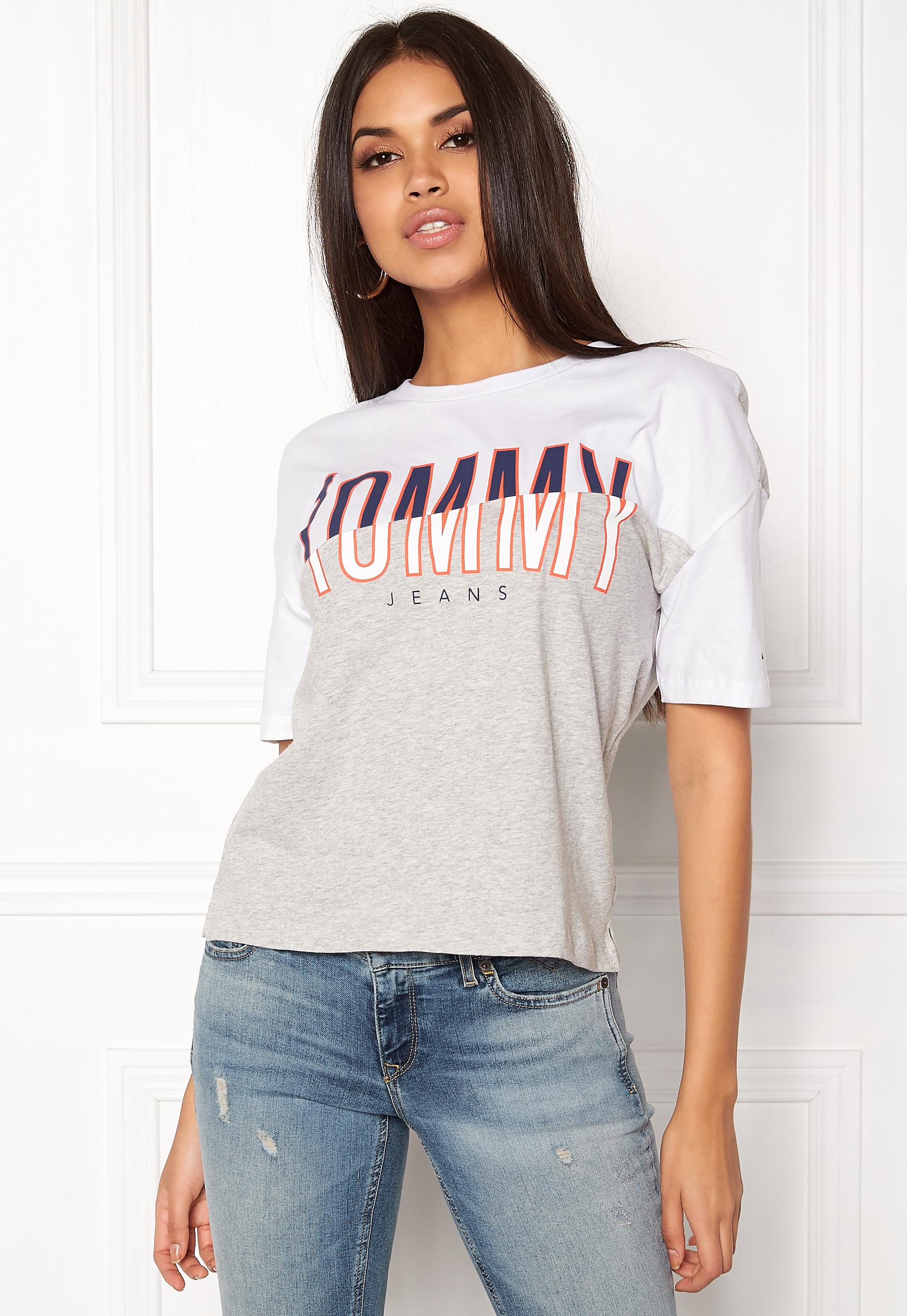 7cc8abdf TOMMY JEANS T-shirt S/S 21 Bright White - Bubbleroom