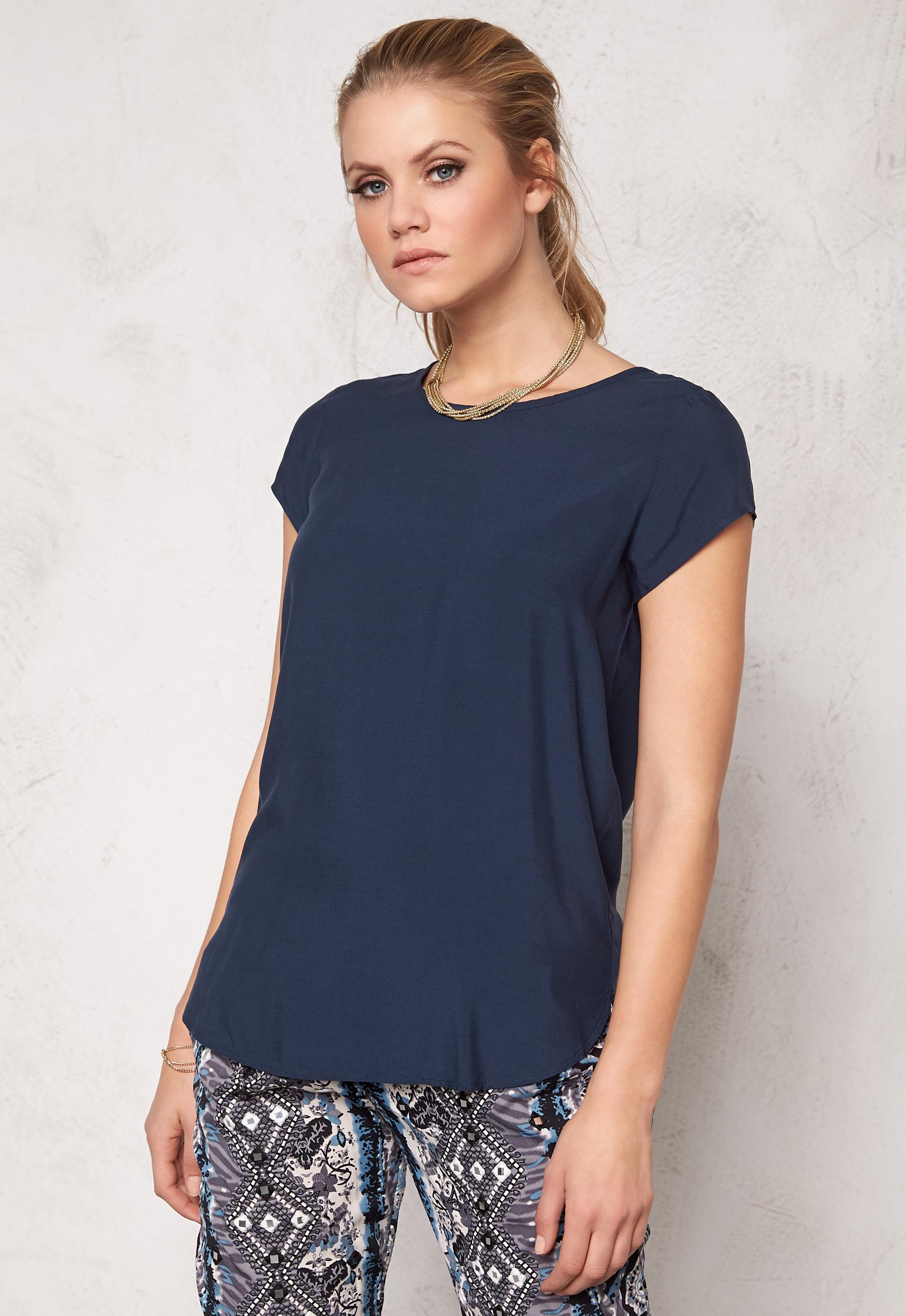 Waisted Jersey Dress - Black iris Vero Moda Outlet Discount Authentic rDb7dW5YJX