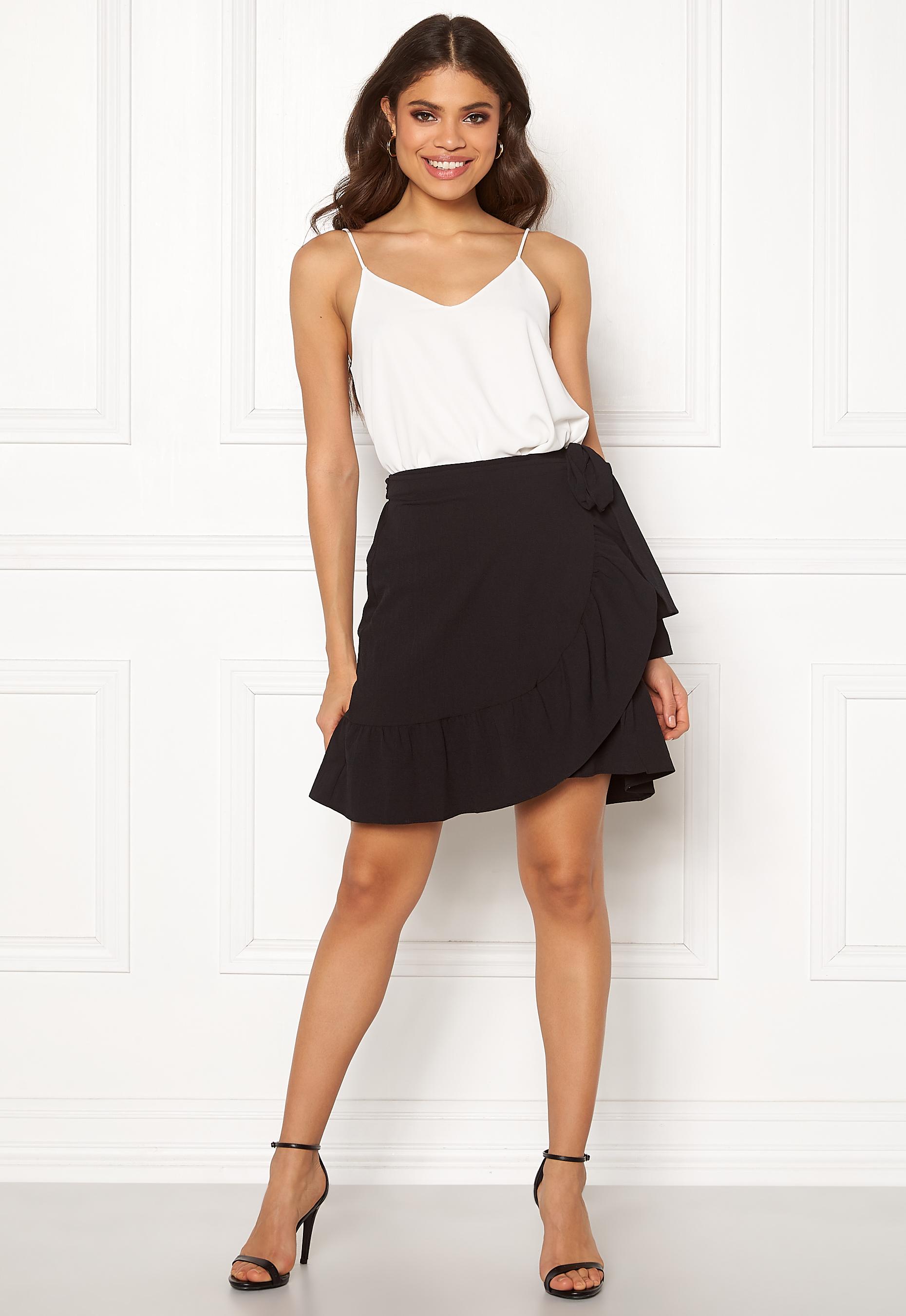 3becd0bc8 VERO MODA Cita Bobble Wrap Skirt Black - Bubbleroom