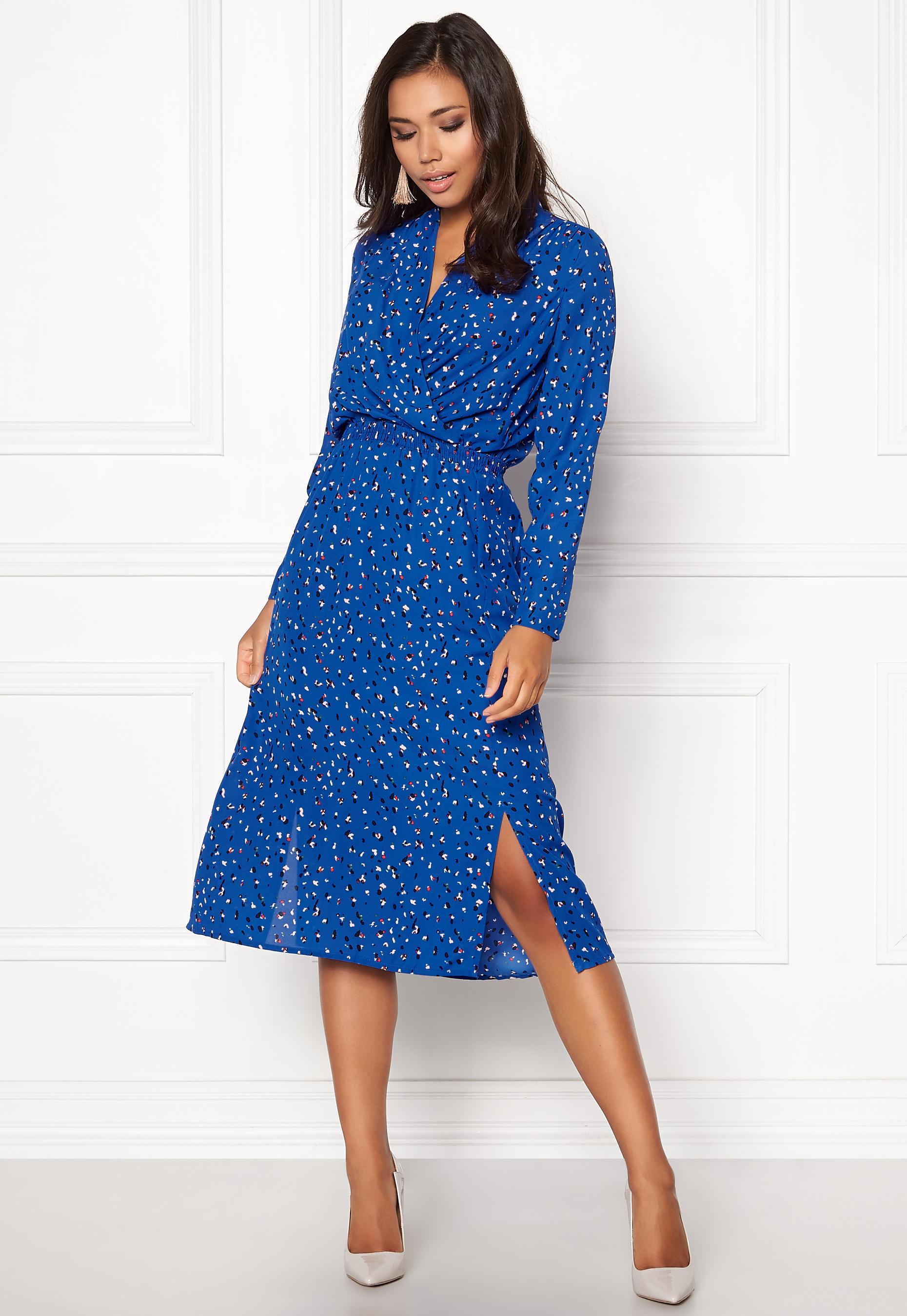 Blue dress vero moda