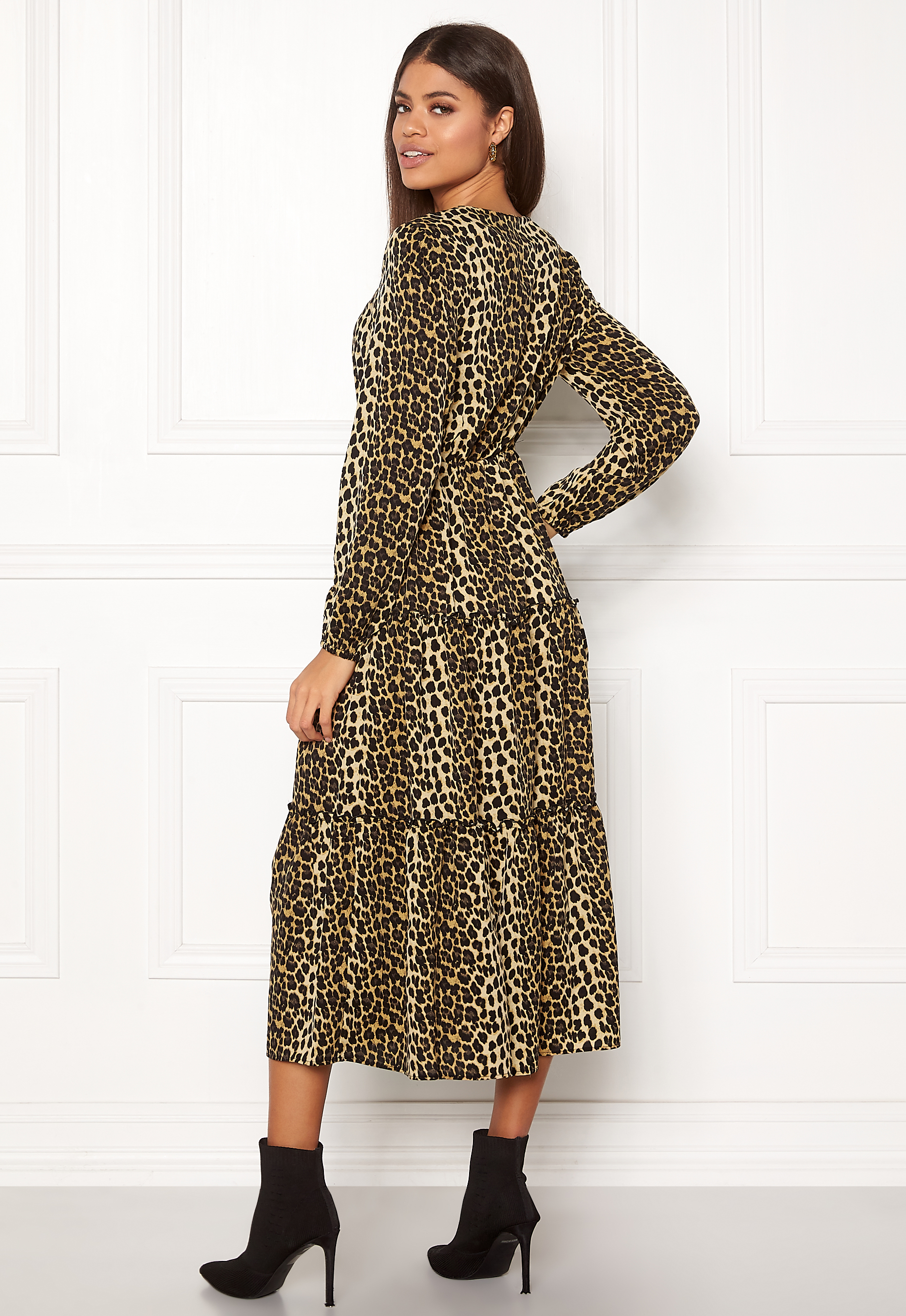 bc4966ca VERO MODA Leo Ankle Dress Black - Bubbleroom