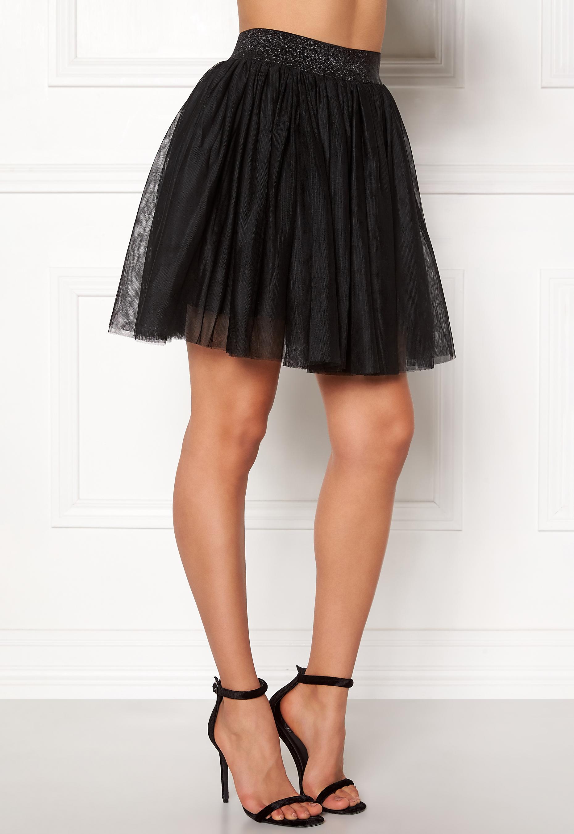 97f5a10e96 VERO MODA Tulle Short Skirt Black - Bubbleroom