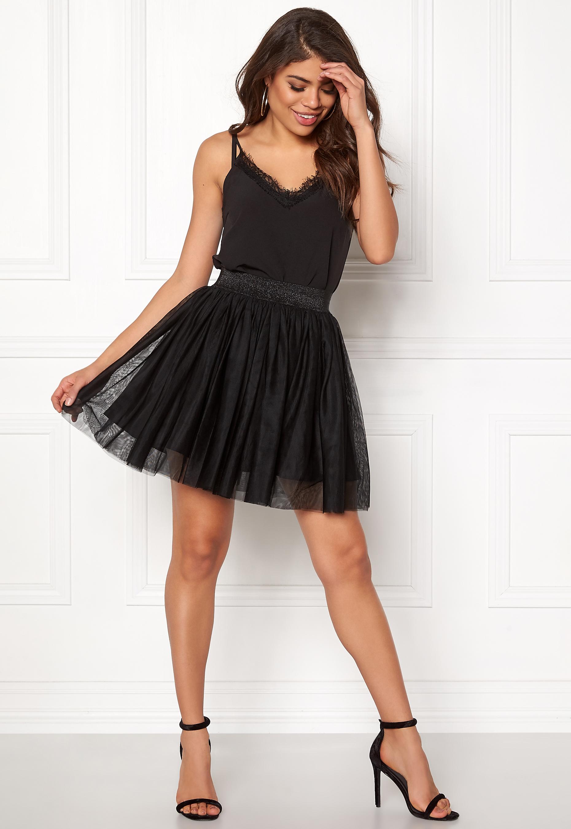 e82d61b827 VERO MODA Tulle Short Skirt Black - Bubbleroom