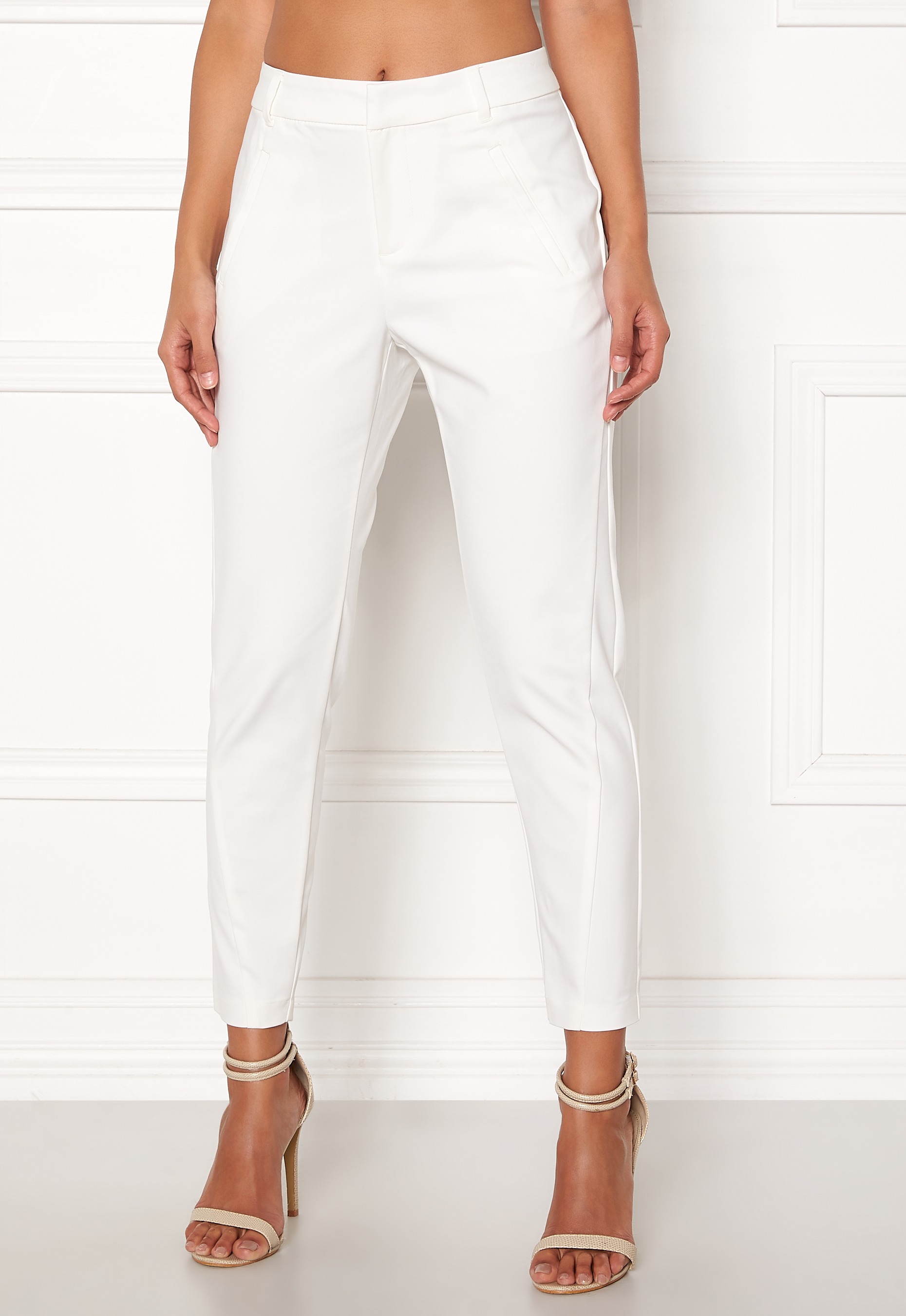 70a792b9 VERO MODA Victoria Ankle Pants Snow White - Bubbleroom