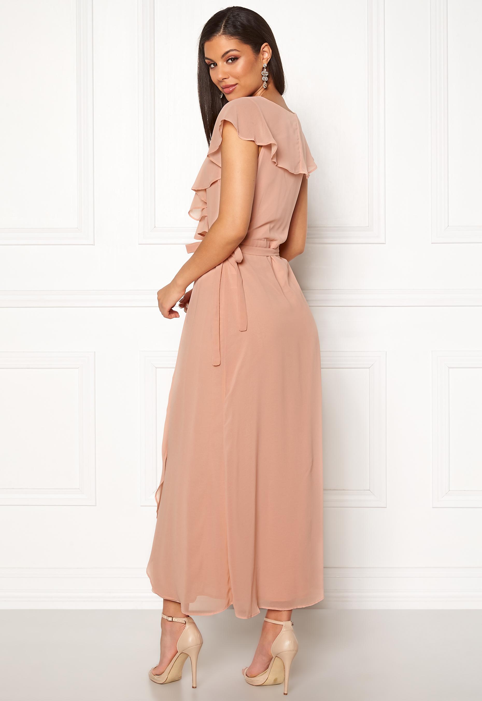 cf1c576a VERO MODA Vida SL Ankle Dress Misty Rose - Bubbleroom