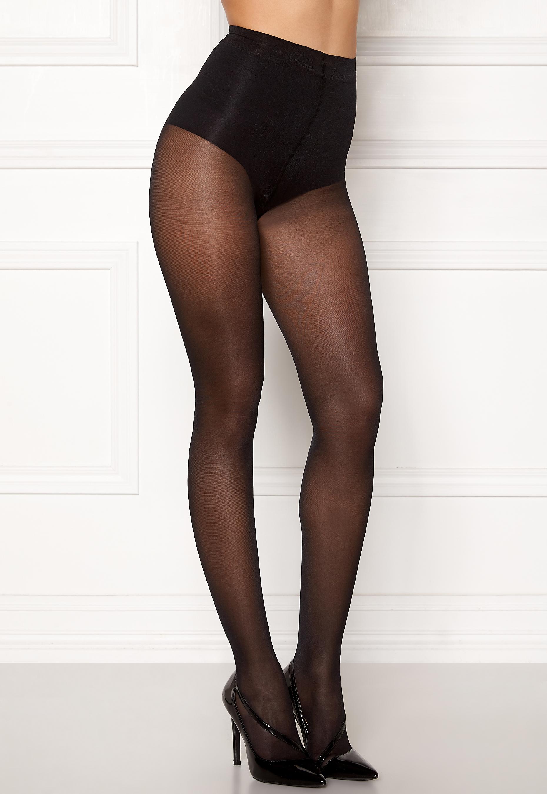 Vogue Brillante Tights 40 Den Black Bubbleroom